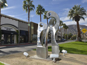 Art in Public Places on El Paseo in Palm Desert